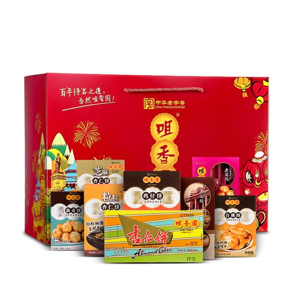 咀香园 传统糕点礼盒