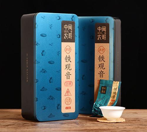 中闽农哥安溪铁观音茶叶礼盒