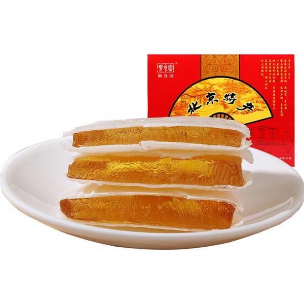 御食园 水果味茯苓饼礼盒