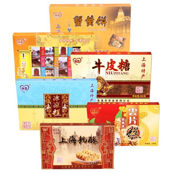 庙香 城隍庙小吃礼盒