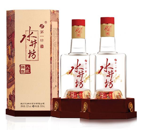 水井坊 52度臻酿八号白酒礼盒装