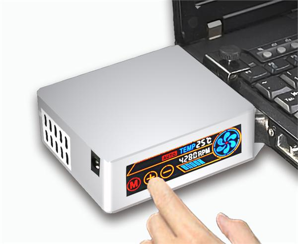 迅冷笔记本抽风散热器 迅冷六代笔记本抽风式散热器