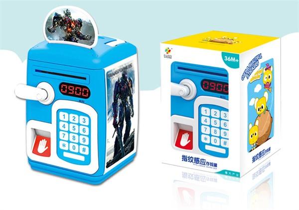全盛玩具乐园 指纹感应密码箱储蓄罐