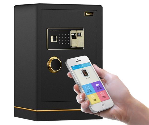 CRN 全钢wifi指纹保险箱
