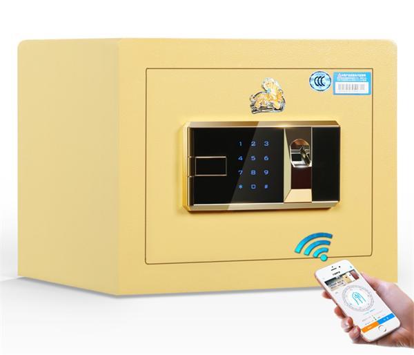 虎牌 家用小型智能防盗wifi指纹保险箱
