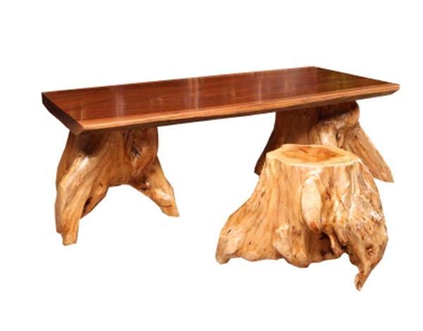 卓越名木烘干大板 原木茶台