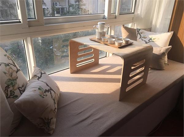 小树苗官方企业店 实木榻榻米矮桌