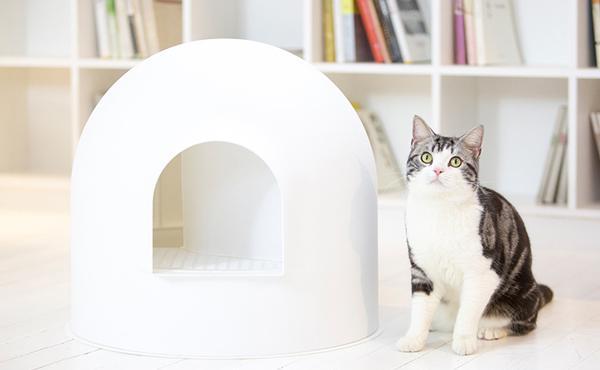 PIDAN 雪屋全封闭式猫砂盆猫厕所