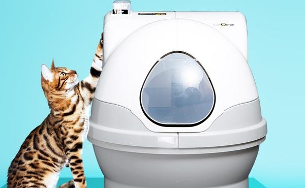 猫洁易CatGenie 全封闭全自动猫厕所