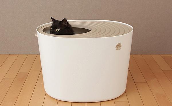爱丽思IRIS 猫砂盆蜗居式全封闭大号猫砂盆