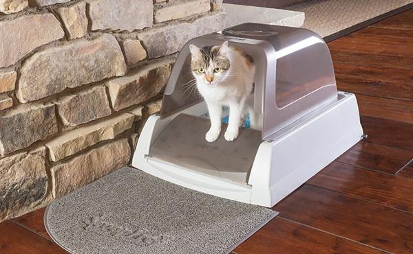 PetSafe 封闭式电动自洁猫厕所