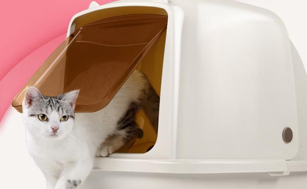 猫乐适 全封闭猫砂盆