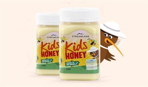 小果澳洲代购直邮店 新西兰儿童蜂蜜百花蜜