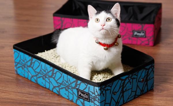 petsfit 可折叠猫砂盆