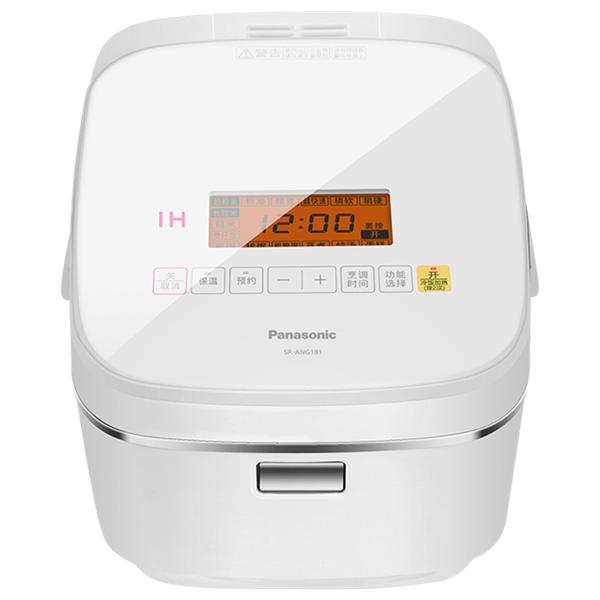 Panasonic/松下 家用智能温控变频IH加热电饭煲SR-ANG181