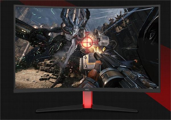 品牌显示器主营店 HKC曲面屏显示器G32pro