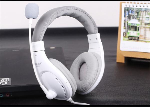 Salar/声籁 A566头戴式台式电脑耳机