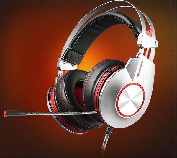 西伯利亚/XIBERIA K5电竞游戏耳机USB7.1