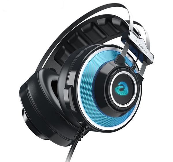 达尔优 头戴式电竞游戏耳机7.1声道EH725