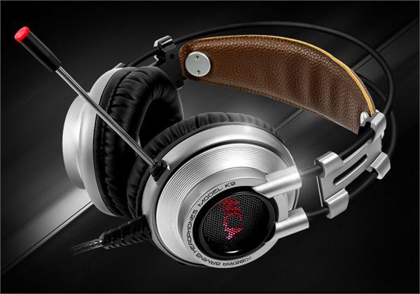 西伯利亚 k9游戏耳机