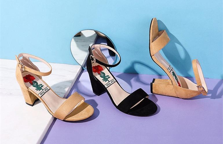 2018年80-150元优雅中高跟女士凉鞋排行榜