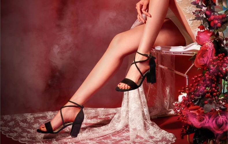 2018年150-250元优雅中高跟女士凉鞋排行榜