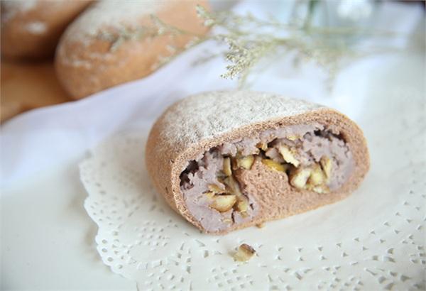 麦轻 板栗芋泥全麦面包低卡