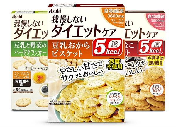 magic美极轻卡 低卡豆乳蔬菜黑糖Asahi朝日饼干