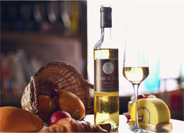 楠希小馆 月亮酒庄贵腐甜白葡萄酒