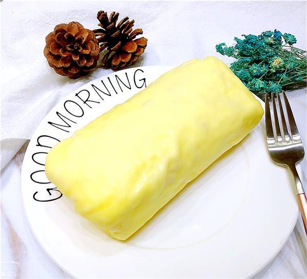 千禧西点 榴莲千层毛巾卷蛋糕