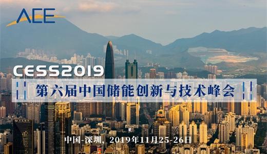 2019第六届储能创新与技术峰会