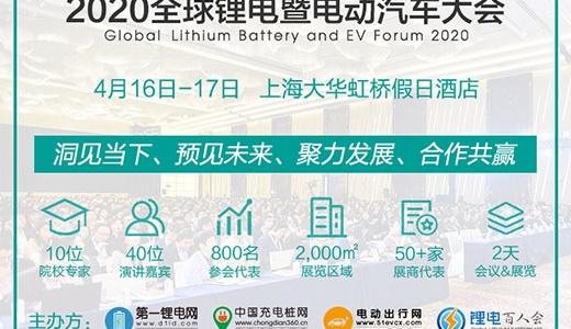 2020全球锂电暨固态电池峰会