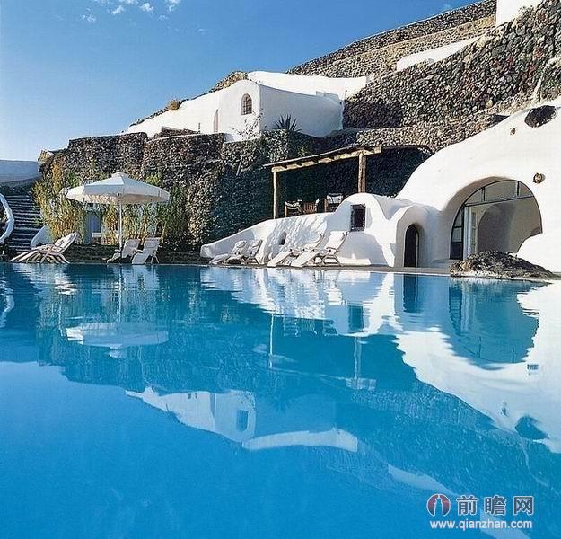希腊洞穴酒店