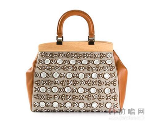Tory Burch珍珠装饰手提包