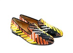 Tatoosh织皮平底鞋