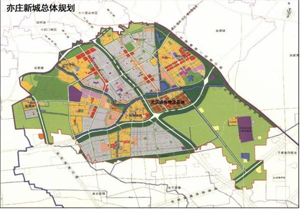 北京通州物流基地案例