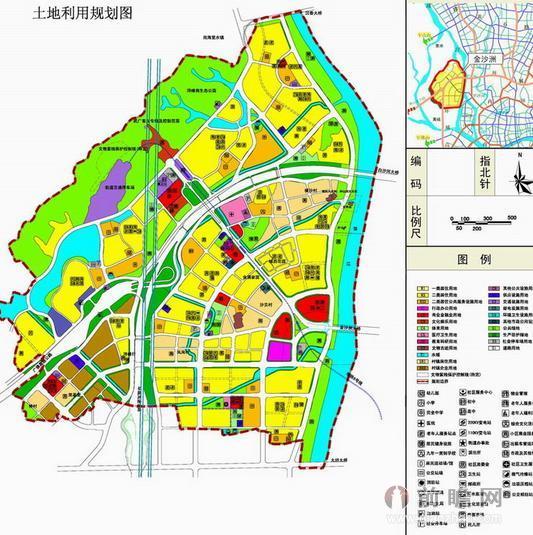 广州金沙洲规划