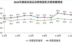 湖南商品房<em>销售量</em>价齐升  增速均居全国第十