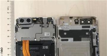 华为P10主板谍照泄密:内置3100mAh电池