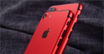 苹果春季发布会新品:中国红版iPhone7 Plus