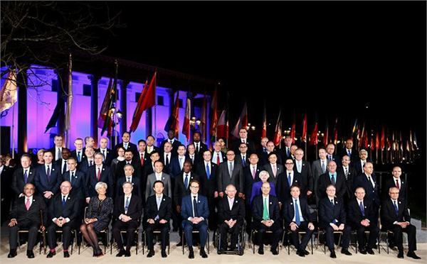 G20财长和央行行长会议在巴登举行