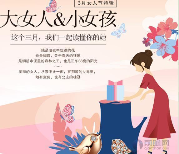 图表1:佐卡伊珠宝营销推广文章