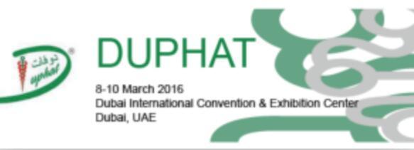 2018年迪拜国际制药医药展DUPHAT