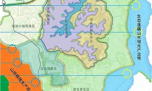 仙海现代农业园规划图