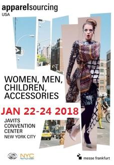 2018年1月纽约国际服装面料采购展