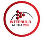 2018年南非约翰内斯堡建材展Interbuild Africa