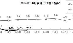 <em>软件</em>出口收入陷入负增长 今年以来增速持续下滑