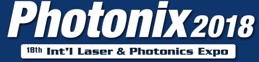 2018年日本东京PHOTONIX光电展