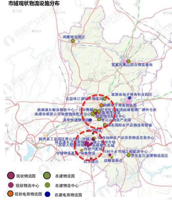 云南铁路分布_云南曲靖高铁智慧物流园区规划案例(2)_智能制造产业规划 - 前瞻 ...