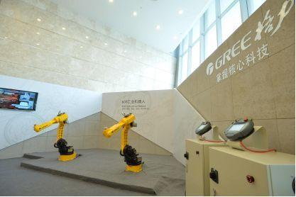 董明珠执着智能装备 计划明年造2500台机器人